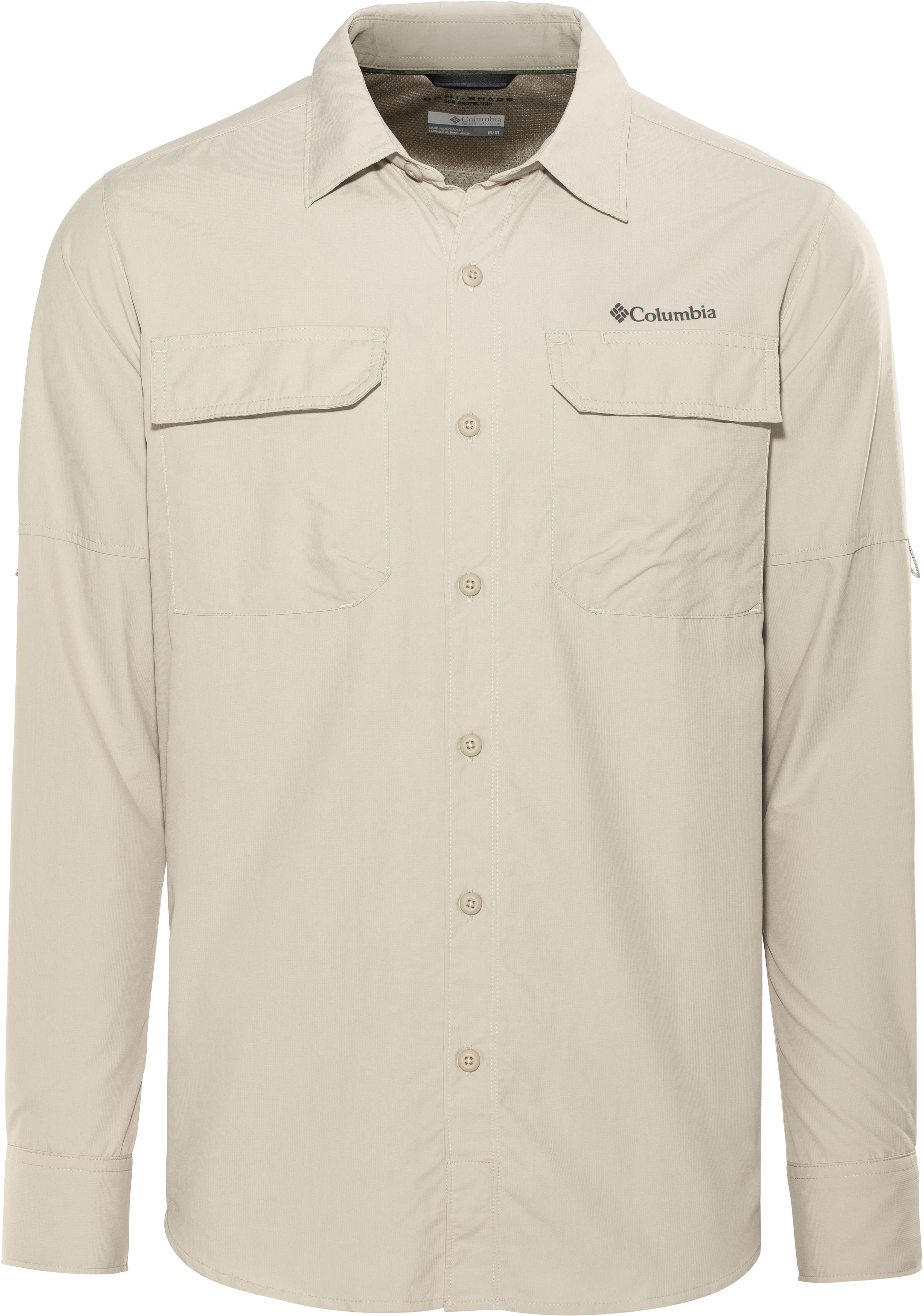 4bbab674ab5 Columbia Silver Ridge II - Camiseta de manga larga Hombre - beige ...